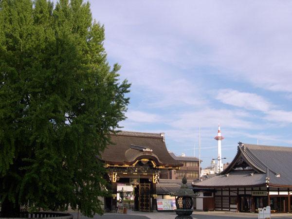 DSCN4894阿弥陀堂より京都タ
