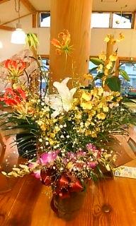バ-スデ-ノお花