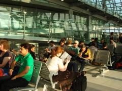 空港のインド人