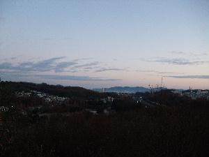 一月一日北の空