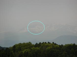 栗駒山の駒形