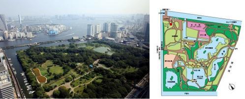 浜離宮空撮Map