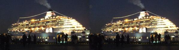 横浜港飛鳥Ⅱ②(平行法)