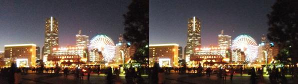 横浜ランドマークタワー③(交差法)