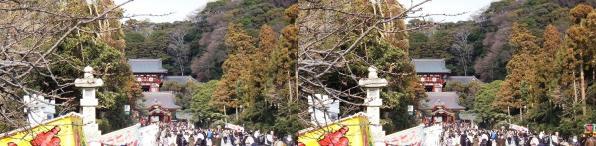 鶴岡八幡宮①(交差法)