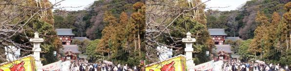 鶴岡八幡宮①(平行法)