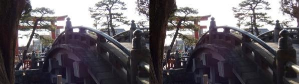 鶴岡八幡宮⑤(交差法)