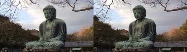 鎌倉大仏②(交差法)