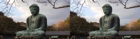 鎌倉大仏②(平行法)