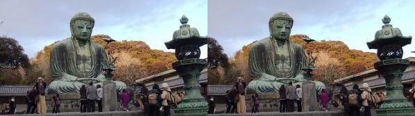 鎌倉大仏④(交差法)