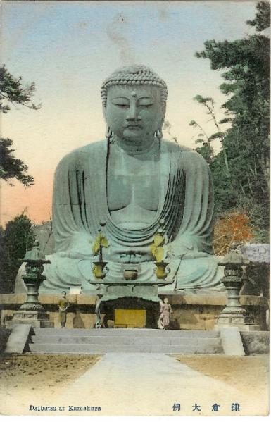 鎌倉大仏絵葉書