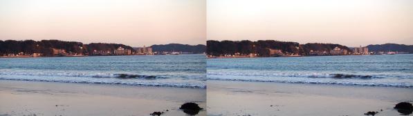 由比ヶ浜①(平行法)