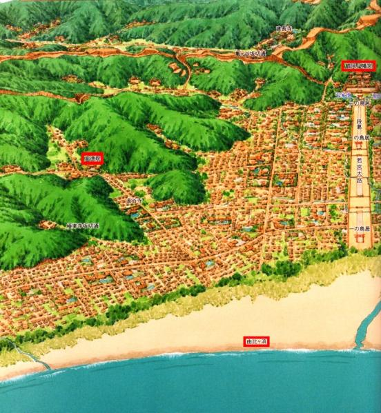 鎌倉鳥瞰図