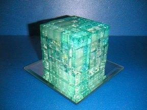 自作立方体組立てパズル1
