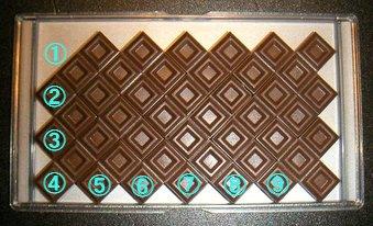 明治ミルクチョコレートパズルM9問題
