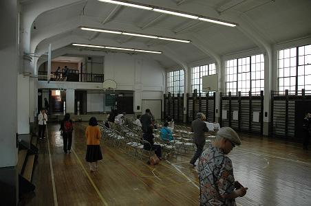 東京女子大旧体育館