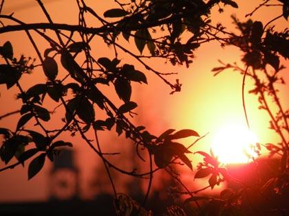 しずみゆく太陽