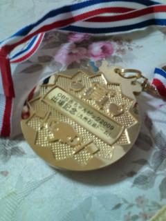 メダル 裏