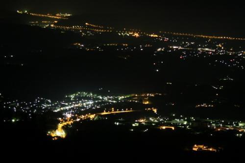 五合目からの夜景