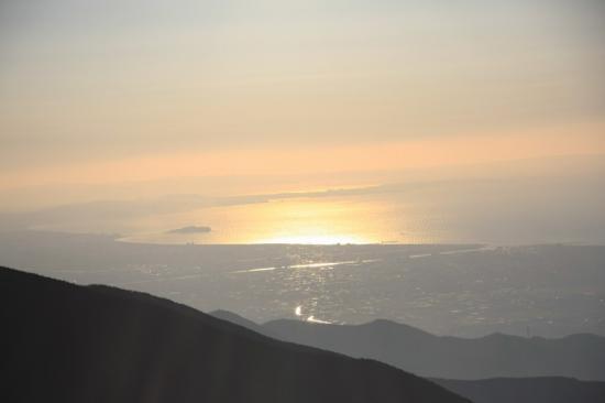 輝く江ノ島