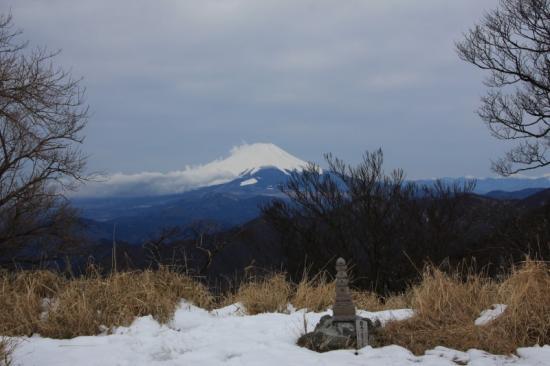 090311丹沢山からの富士山