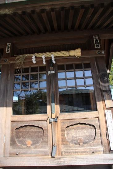 木彫寿老人の堂