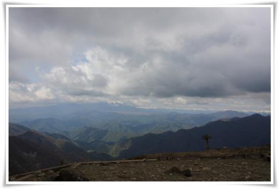 搭ノ岳山頂からの富士山