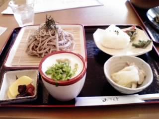 吉野葛入り蕎麦