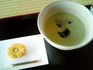 浜離宮 中島の御茶屋 お抹茶セット
