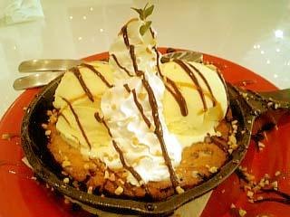 ババ・ガンプ・シュリンプ チョコチップクッキーサンデー