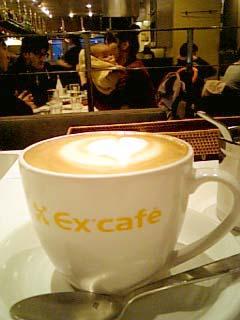 Ex'cafe カフェラテ