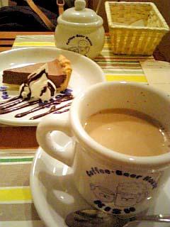 KISH チョコレートチーズケーキ+カフェオレ