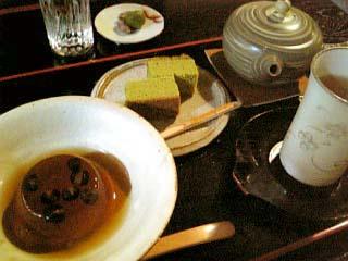 京都三丘園 お茶とスイーツセット
