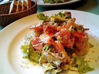 ビストロ・ダルテミス ダルテミス特製サラダ