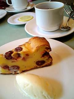 ビストロ・ダルテミス イチジクのデザート