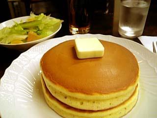日本橋 花時計 ホットケーキ