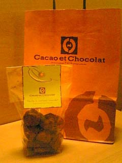 Cacao et Chocolat チョコレート