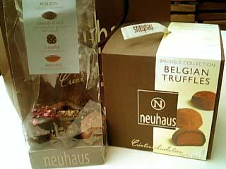 neuhaus チョコレート