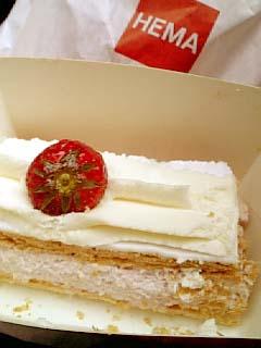 オランダ ミルフィーユケーキ