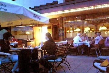 Mannheim 飲み屋の雰囲気