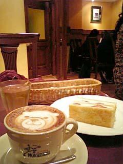 CAFE89 カプチーノ+ミルフィーユ
