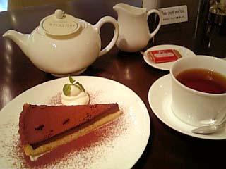 Tearoom Georgette チョコレートタルトセット