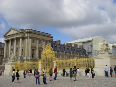 ベルサイユ宮殿入口