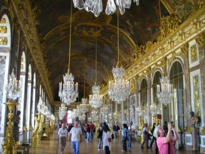 ベルサイユ宮殿 鏡の回廊