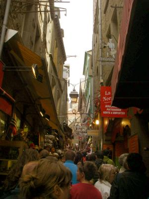 モン・サン・ミッシェル Grande Rue