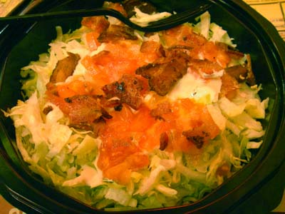FATBURGER サラダ
