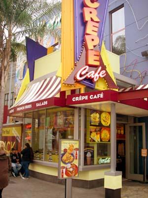 Crepe Cafe 外観