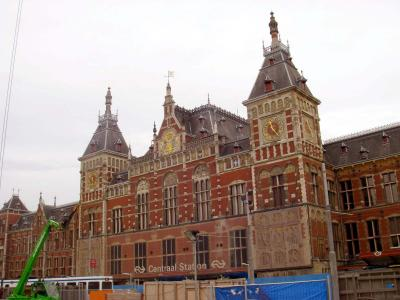 オランダ アムステルダム中央駅