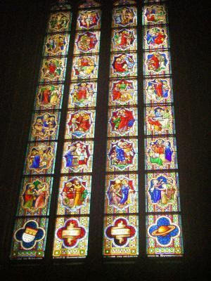ケルン大聖堂 バイエルン窓
