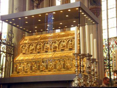ケルン大聖堂 東方三博士の聖遺物